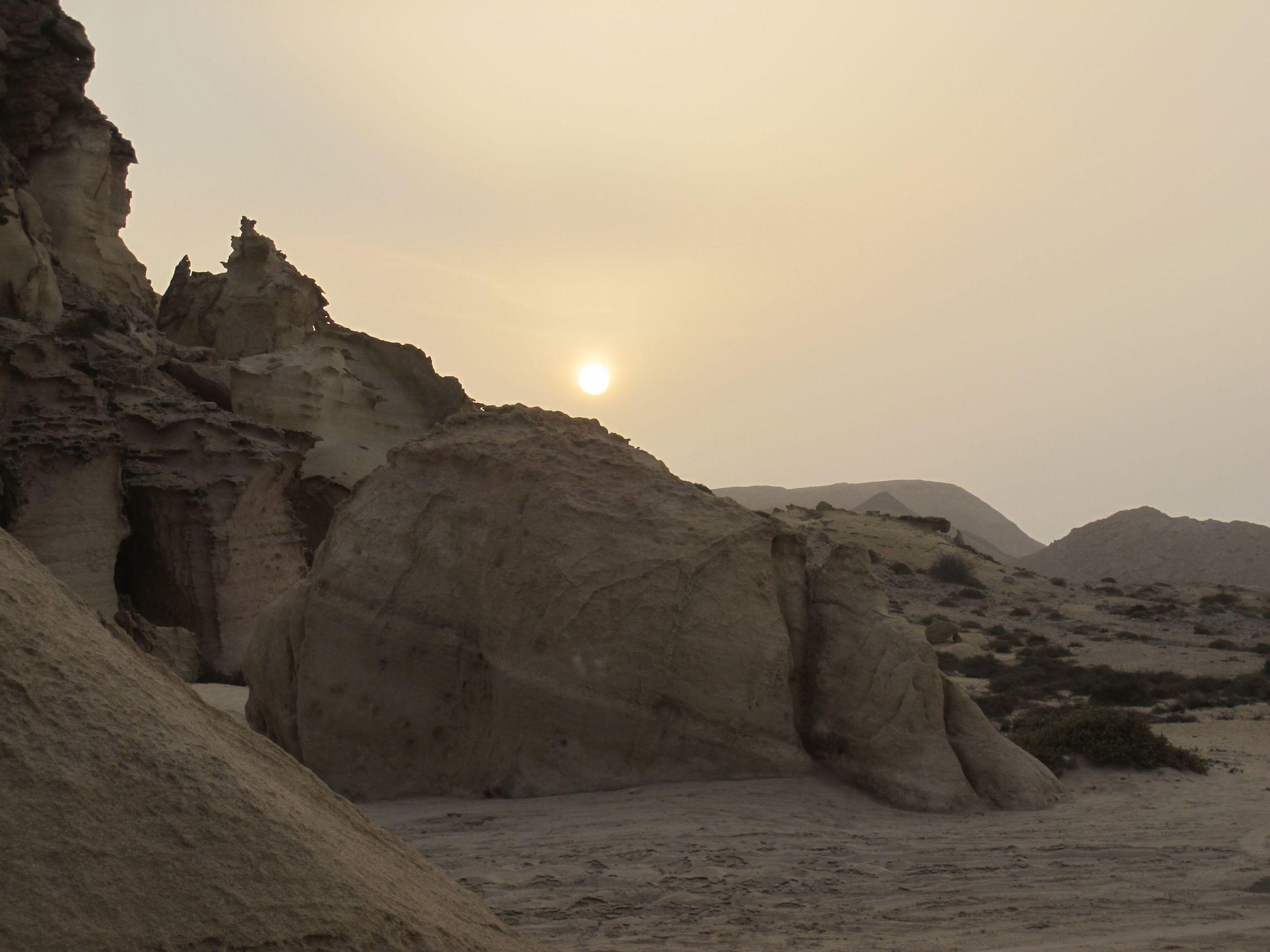 Sunset at Ras Al Jinz