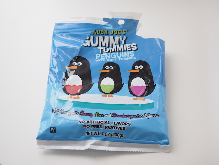Oops, I ate all the Gummy Tummies Penguins. Must. Hide. Evidence.