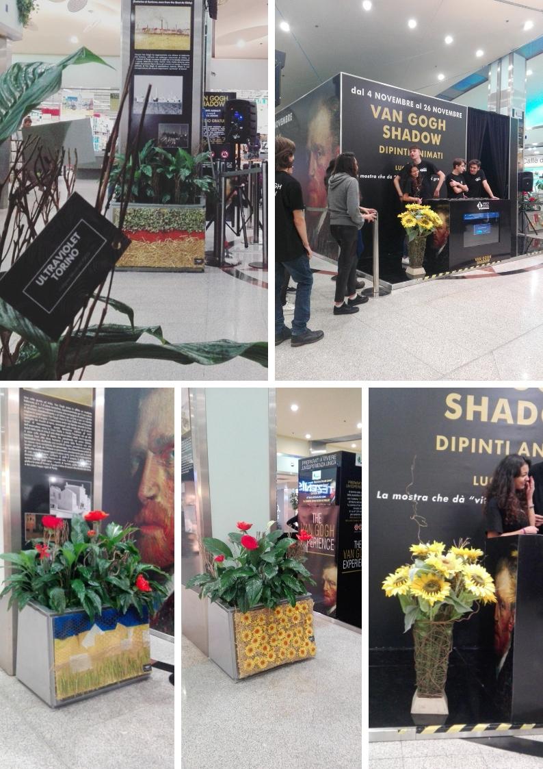 Van Gogh Shadow at ParcoDora mall