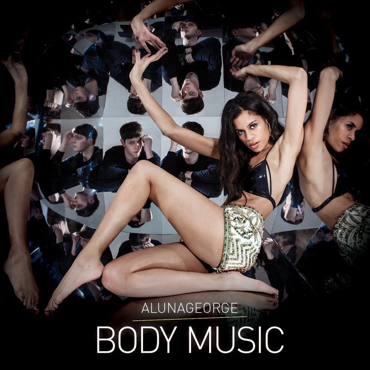 // Ben Ashton kaleidoscope on AlunaGeorge 'Body Music' artwork, collaboration with Fiona Garden