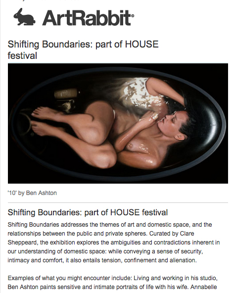 BEN ASHTON IN SHIFTING BOUNDARIES