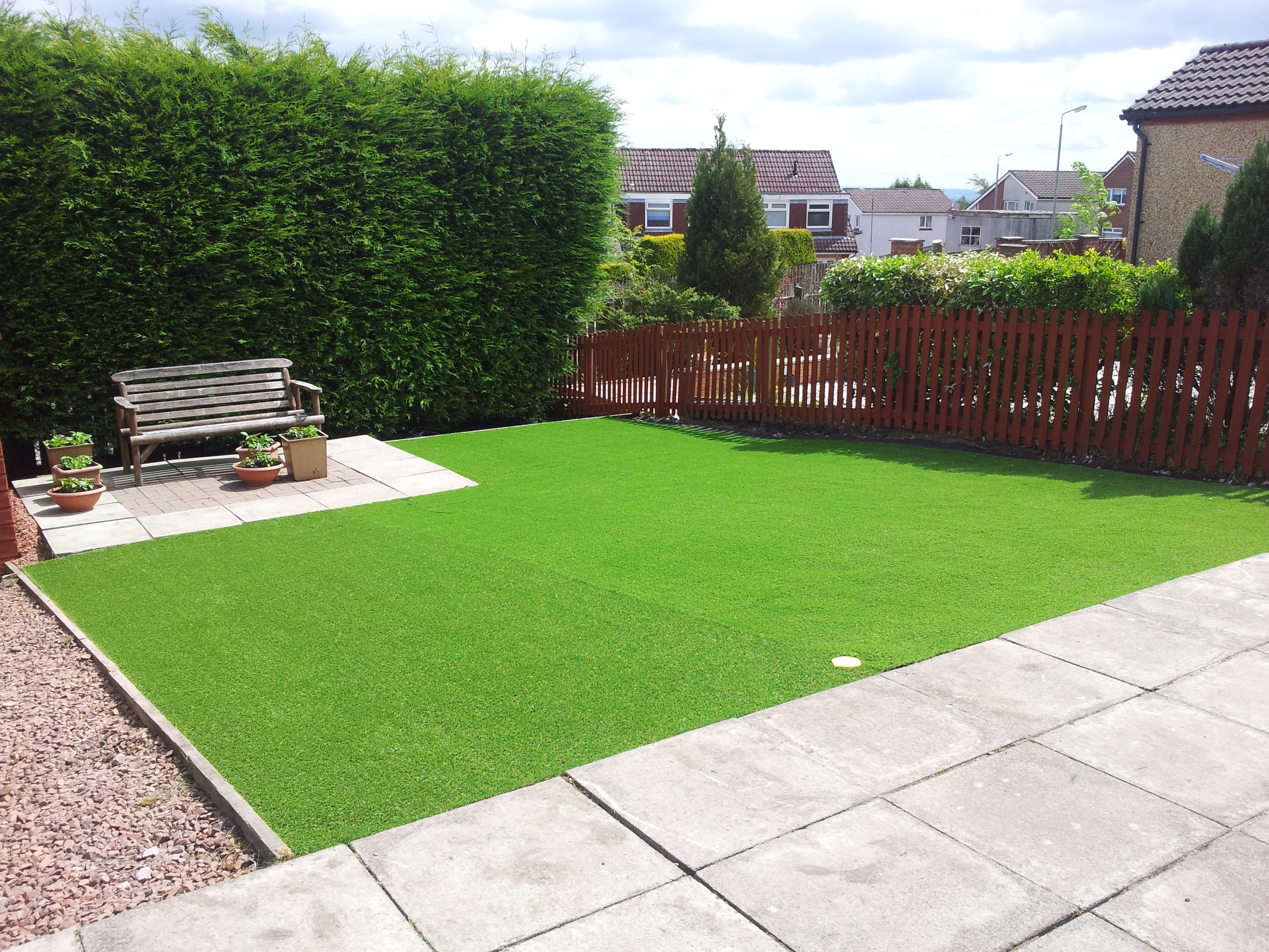 artificial grass installers Glasgow