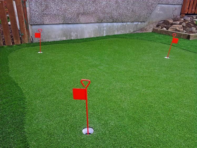 Golf Artificial Grass Home Putting, Putting Green Garden Grass