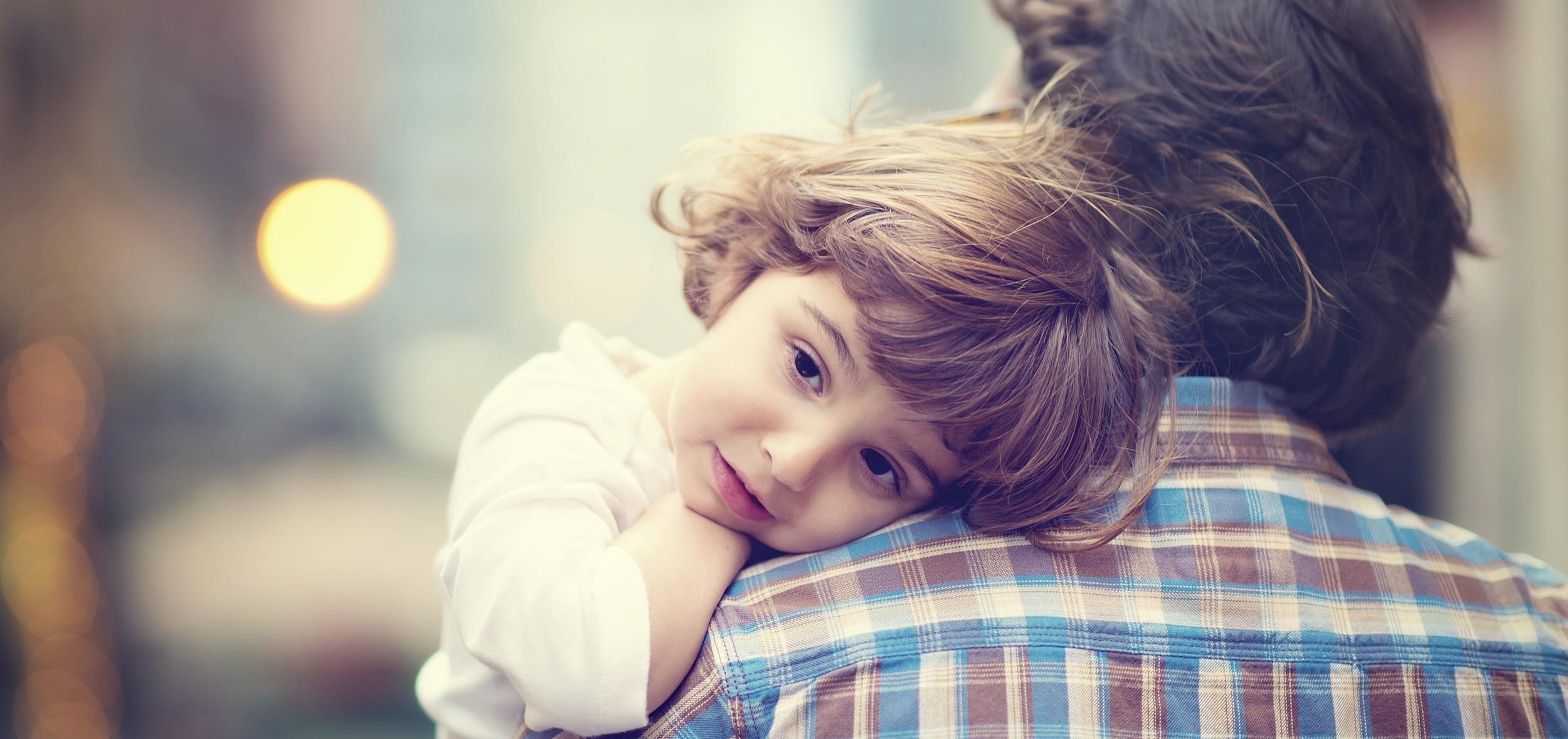 Preschooler with Parent, link to JFTN Preschool Admissions