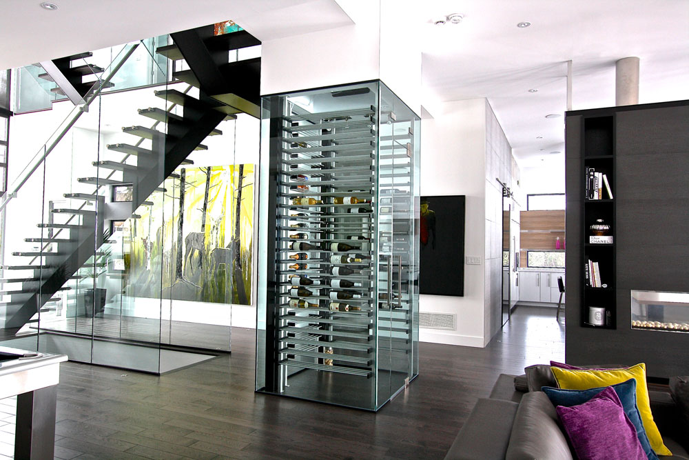 Small, beautiful wine cellars give big enjoyment for wine lovers.   By Mary Luz Mejia
