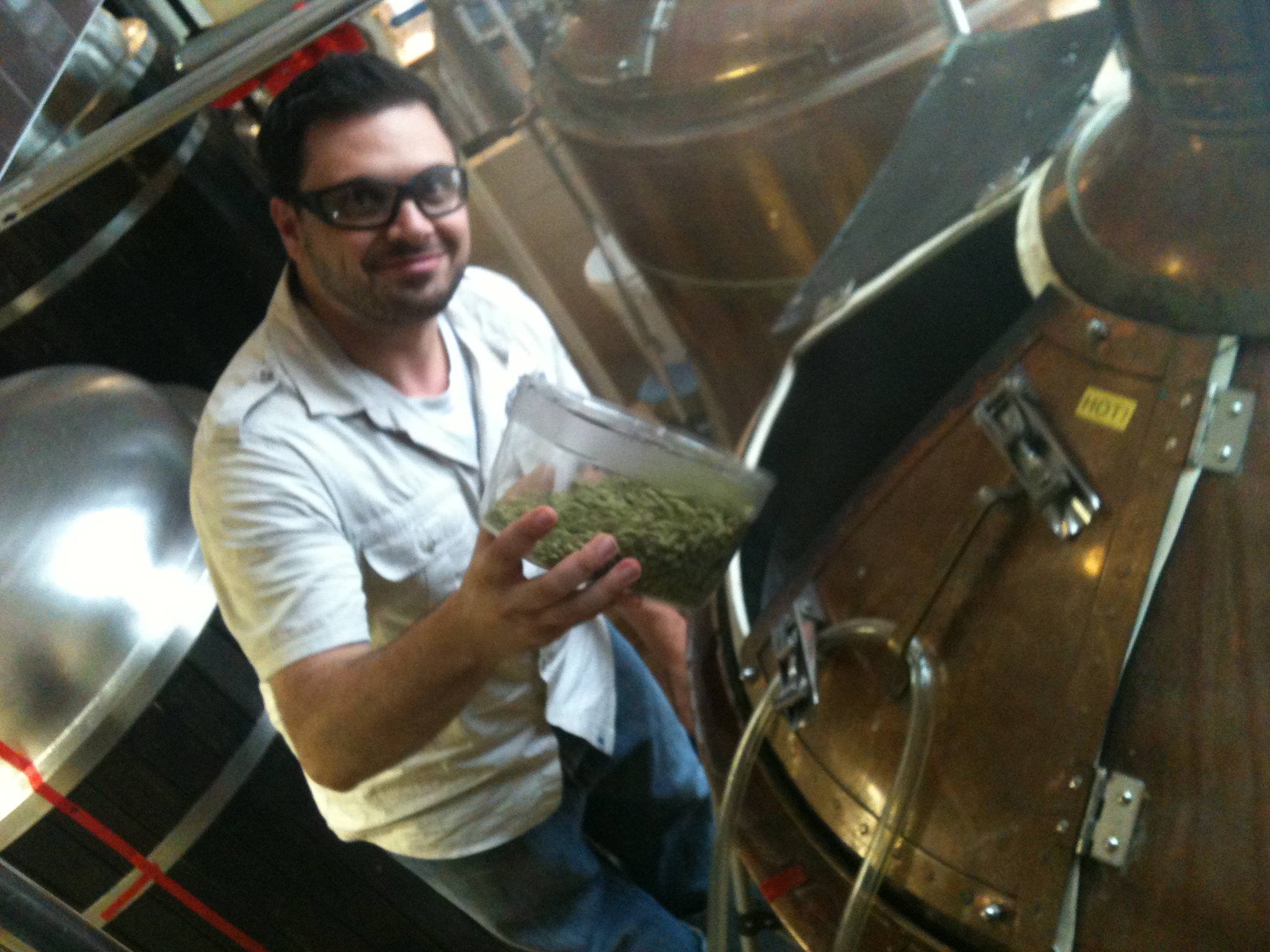 Nick Aiello, Prud'homme Beer Sommelier and head beer instructor for Adventure in Wine