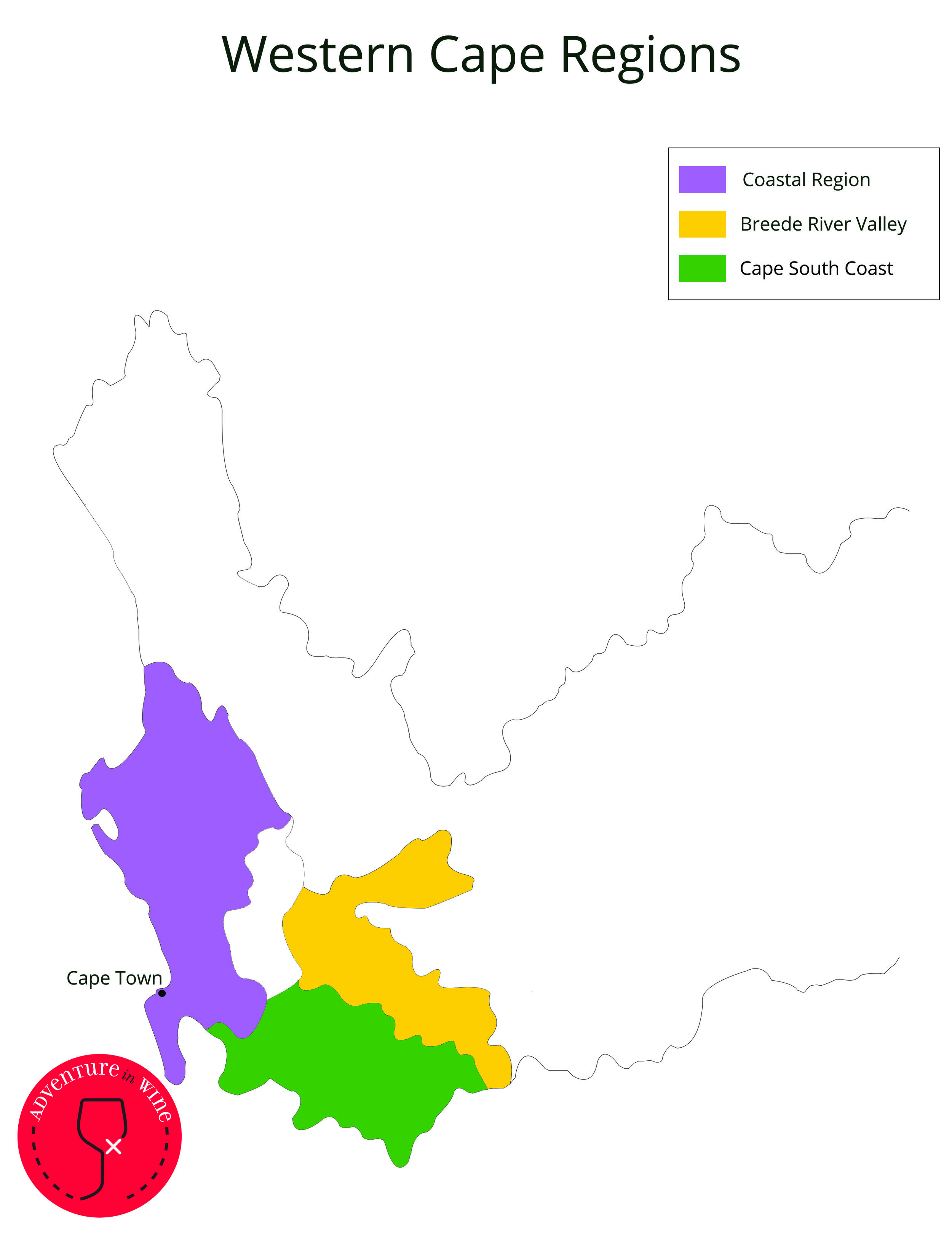 South Africa - Regions of Western Cape colour.jpg