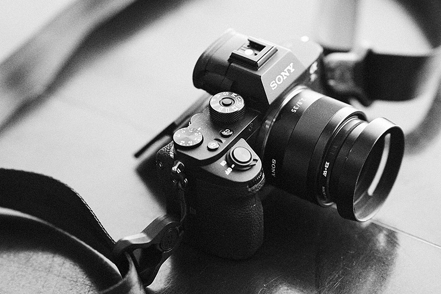This is the small camera used to make the photograph above -- a Sony a7SII, 35mm f2.8 FE Zeiss.