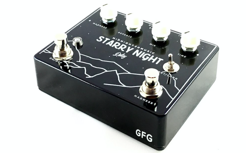 M30 Starry Night Delay Pedal.