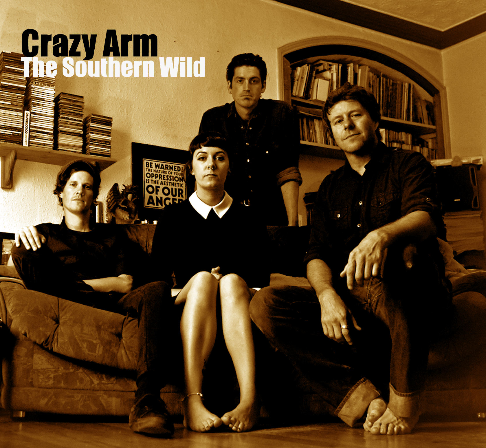 Crazy Arm - The Southern Wild - sleeve.jpg