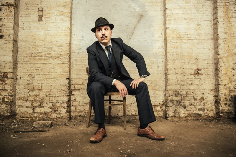 Jamie Lenman, photo by Ben Morse