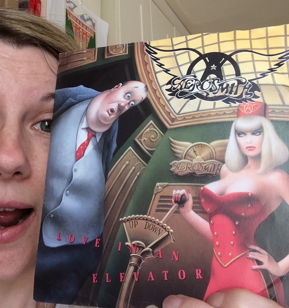 Dani with Aerosmith's 'Love In An Elevator'