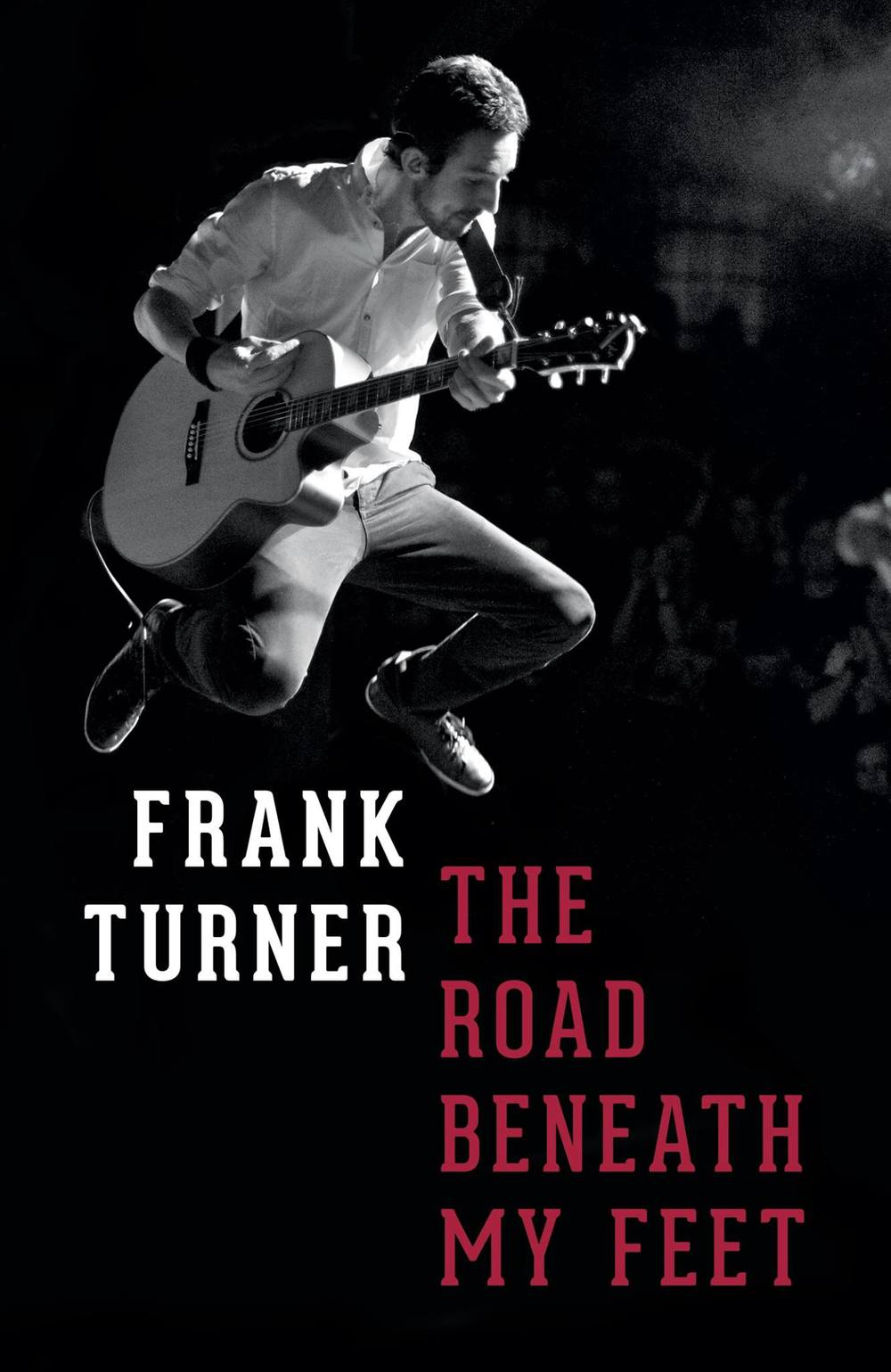 Frank Turner's The Road Beneath My Feet hardcover (photo by Gregory Nolan) - click to buy from Amazon.