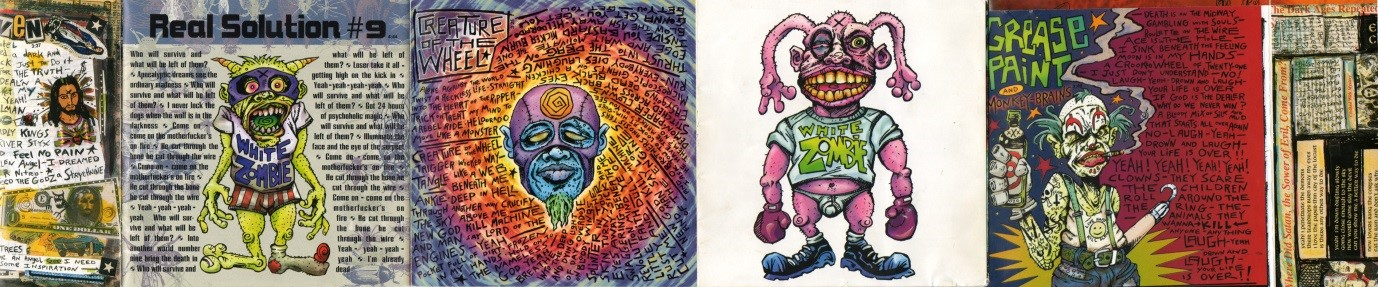 Rob Zombie's  Astro Creep  artwork