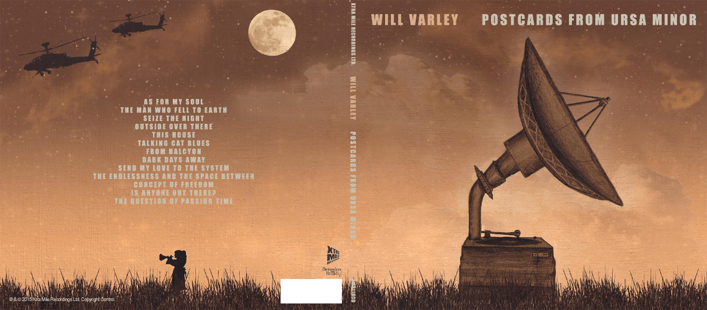 CD artwork for  Postcards From Ursa Minor .