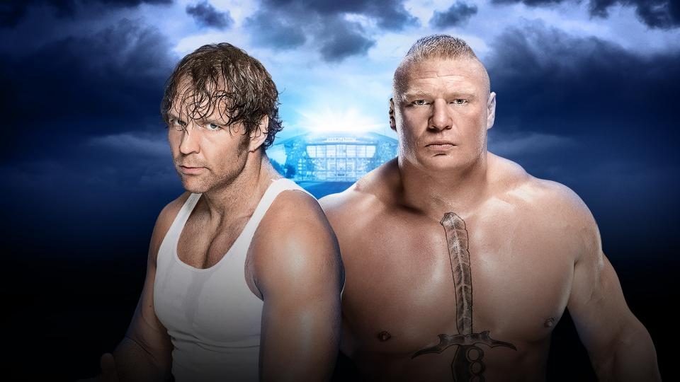 "A dark alley, a ""who spilled my pint?"", spin the bottle, who would you rather have? – Image from WWE.com"