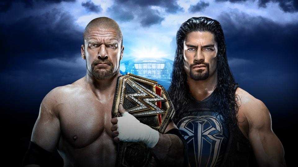 This match is the equivalent of hightailing it as far away from the fireworks factory as possible when all you want is enormous explosions – Image from WWE.com