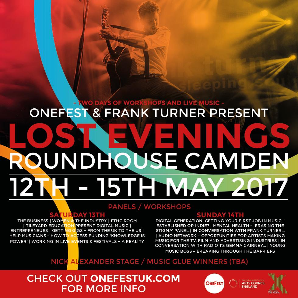 OneFest Weekend Lost Evenings programme