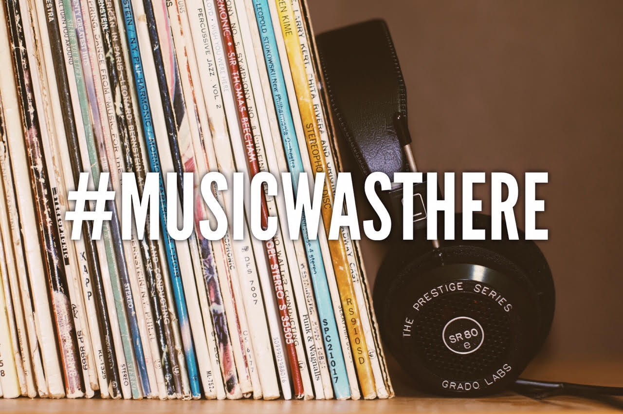 Use the hashtag #MusicWasThere on social media for stories of how music helps when hard times hit.