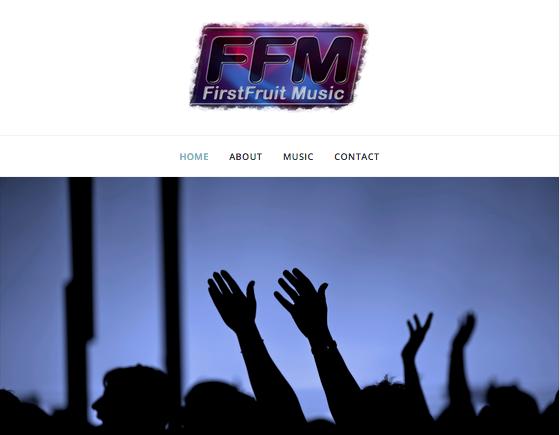 First Fruit Music Website