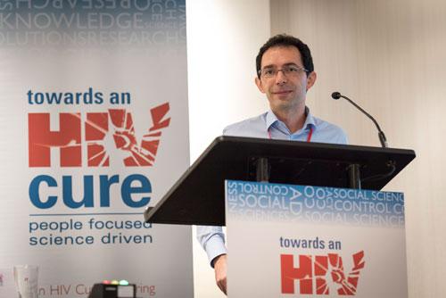 Dr. Mirko Paiardini (Photo copyright Steve Forrest/Worker's Photos/IAS)