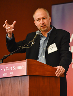 Dr. Deeks was a presenter at amfAR's HIV Cure Research Summit on World AIDS Day 2015.