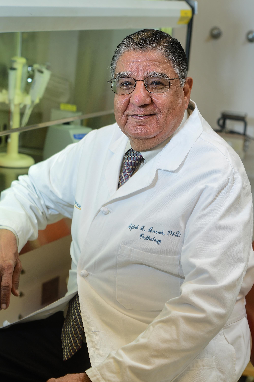 Senior author Dr. Aftab Ansari, professor of pathology and laboratory medicine at Emory University School of Medicine (Photo courtesy of Emory)