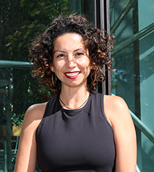 Dr. Marcella Flores, associate director of research for amfAR
