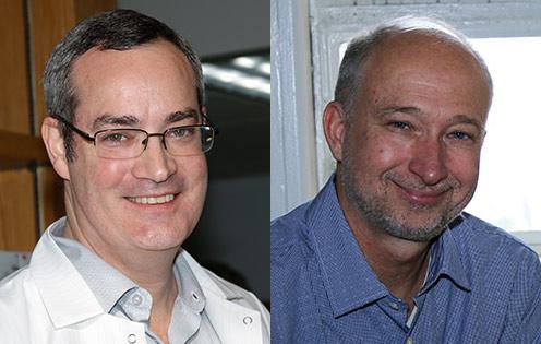 Dr. Peter Hunt and Dr. Steven Deeks