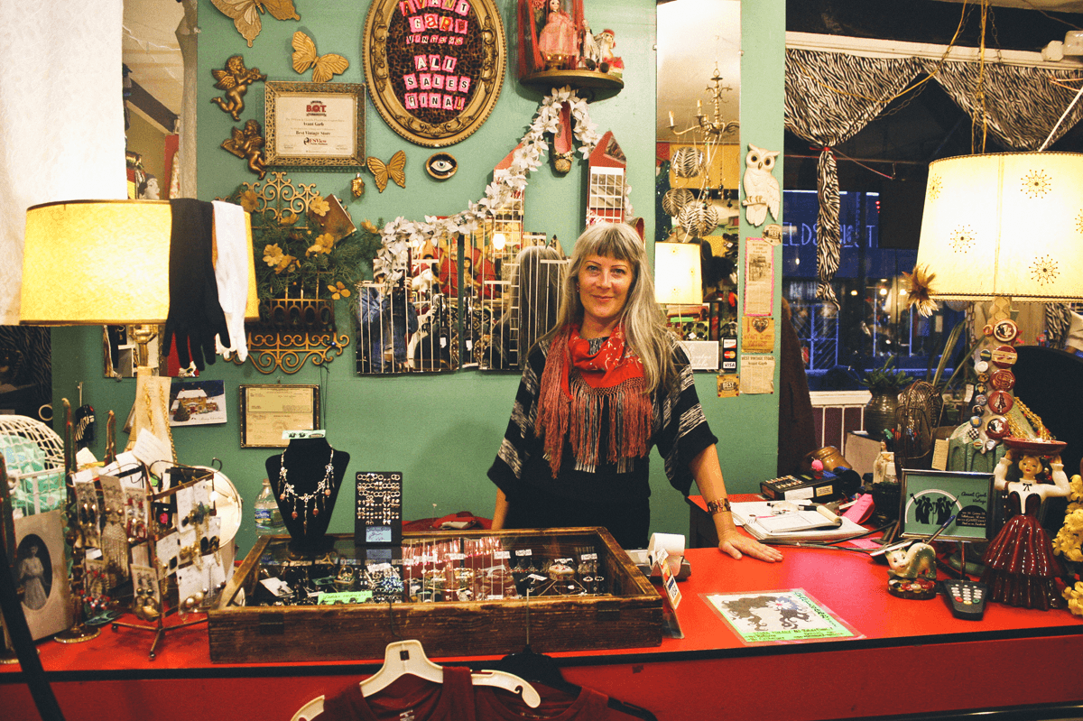 """Avant-Garb is the vintage gem of Tallahassee, offering unique clothing, hat, and jewelry pieces: 90's velvet grunge dresses, classic 80's snapbacks, 70's pewter zodiac charms, 60's collector lunch boxes, and sewing patters from the 1920s-1070s!Owner and curator Heather Wade can often be found behind the check-out counter, offering great style advice and endless babe-spiration.       Normal   0           false   false   false     EN-US   X-NONE   X-NONE                                                                                                                                                                                                                                                                                                                                                                           /* Style Definitions */  table.MsoNormalTable {mso-style-name:""""Table Normal""""; mso-tstyle-rowband-size:0; mso-tstyle-colband-size:0; mso-style-noshow:yes; mso-style-priority:99; mso-style-parent:""""""""; mso-padding-alt:0in 5.4pt 0in 5.4pt; mso-para-margin-top:0in; mso-para-margin-right:0in; mso-para-margin-bottom:10.0pt; mso-para-margin-left:0in; line-height:115%; mso-pagination:widow-orphan; font-size:11.0pt; font-family:""""Calibri"""",""""sans-serif""""; mso-ascii-font-family:Calibri; mso-ascii-theme-font:minor-latin; mso-hansi-font-family:Calibri; mso-hansi-theme-font:minor-latin;}"""