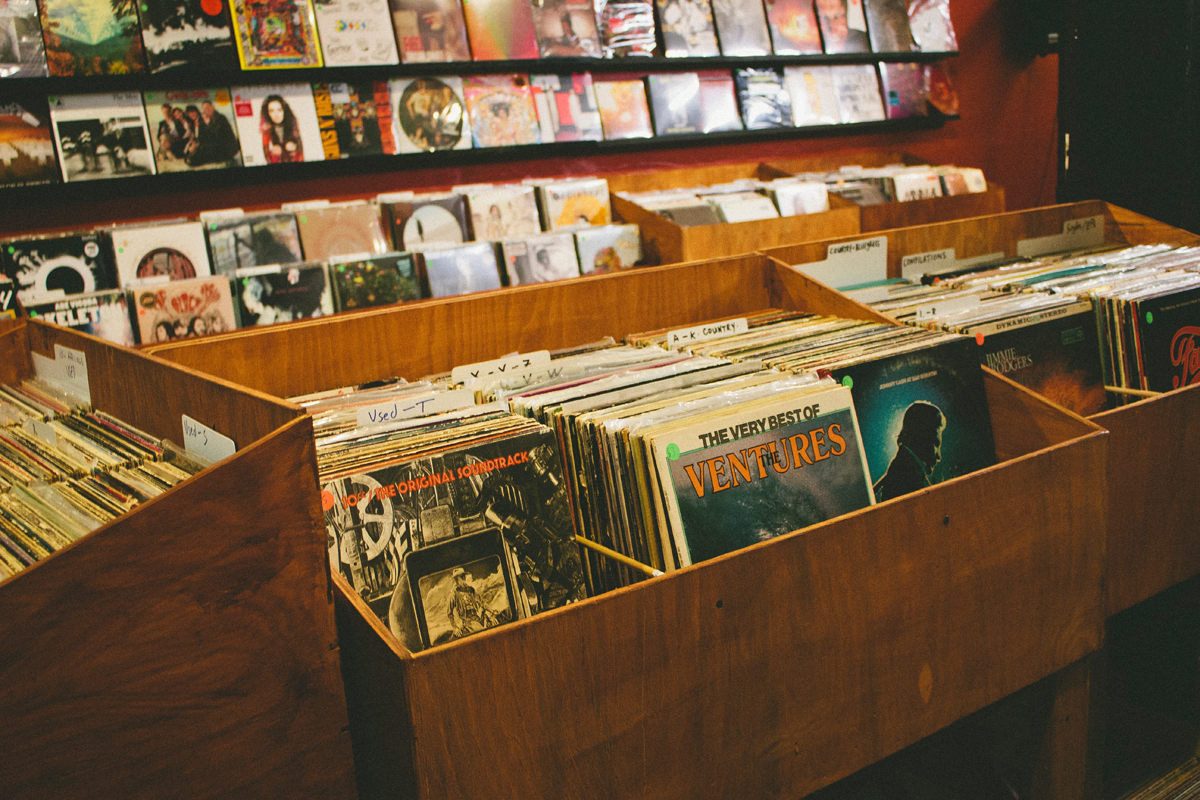 Get all your vinyl needs – they carry a great selection from vintage to brand new. Cool owners Sharod and Bradley keep the store stocked with cool records for all tastes Greats shows of local and national acts frequent the shop, so locals be sure to check out their schedule.