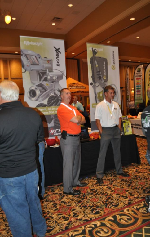 Charles Parsley, Southern Indiana Sales Manager, and Shane Langemeier, Central Indiana Sales Manager represent Best Equipment at the inaugural 2013 Midwest Damage Prevention Training Conference.