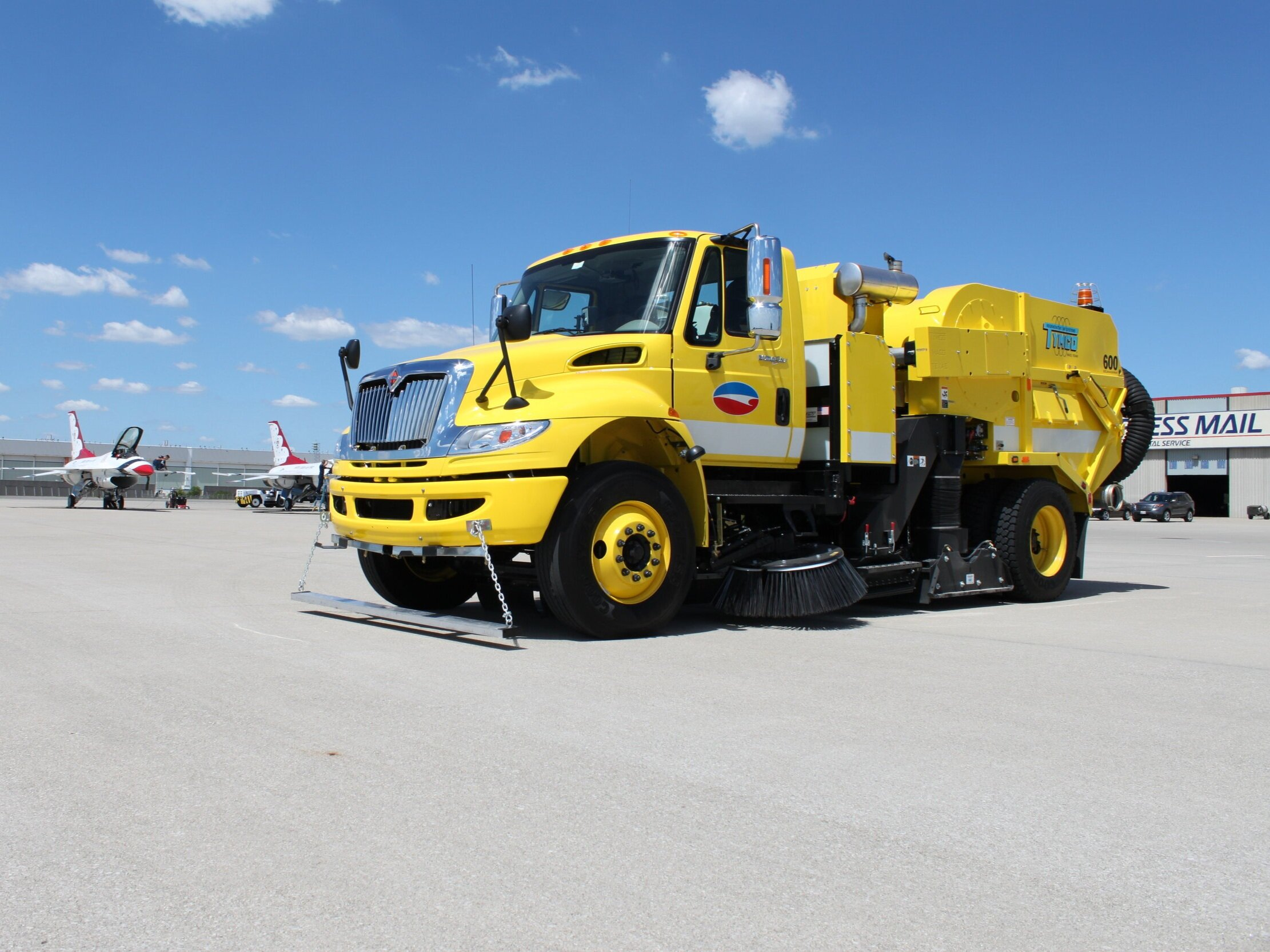 TYMCO - REGENERATIVE AIR SWEEPERS