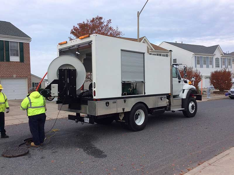 SEWER DUCK - TRUCK MOUNTED ENCLOSED SEWER JETTERS