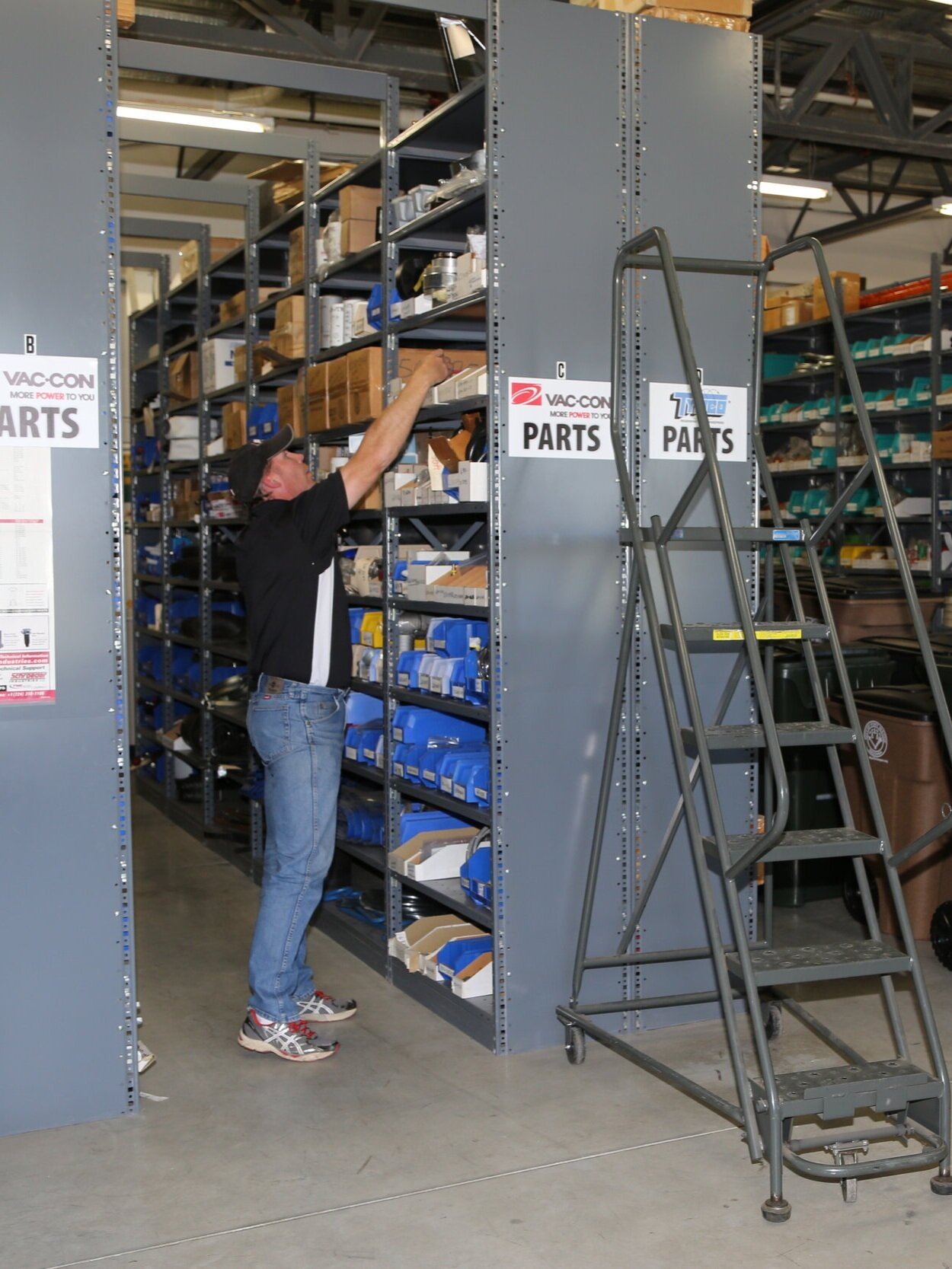 Parts Expertise You Can Count On - We keep high wear parts in stock, ready to ship to you. Looking for something unusual? Need help solving your parts issue? Our parts experts can help you assess your situation and get you back up and running. Our in stock parts ship next day via UPS.We're here to help.