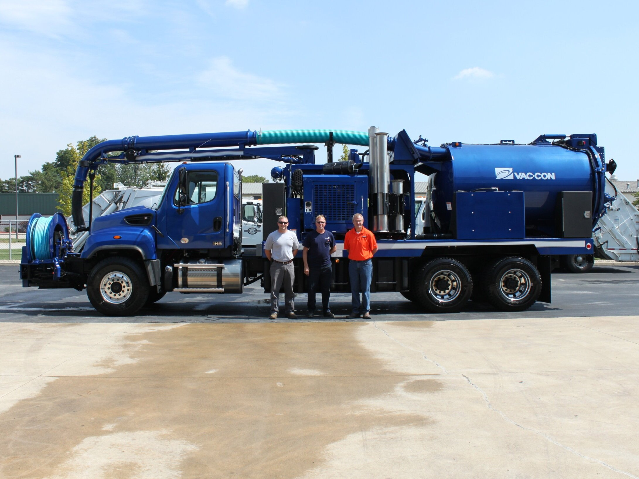 vac-con - cOMBINATION SEWER CLEANER AND JETTER MACHINES