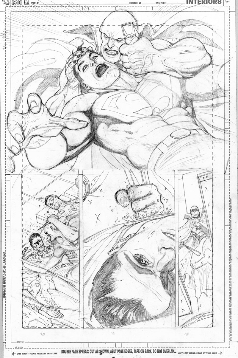Brightest Day #15, page 18.  Pencils: Pat Gleason.  Inks: Tom Nguyen.