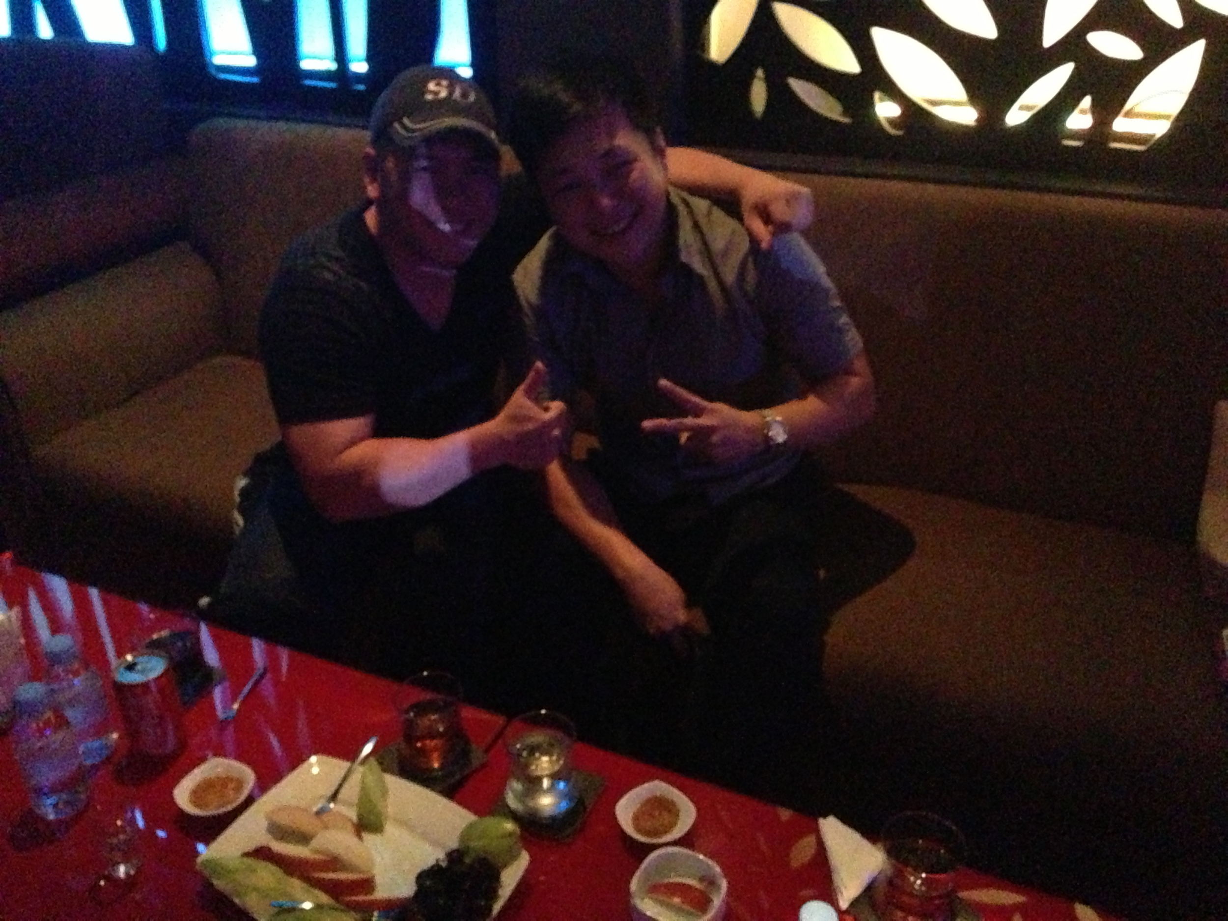 Me on the left, my new friend Dang on the right as we party it up VIP-style in Ho Chi Minh City.