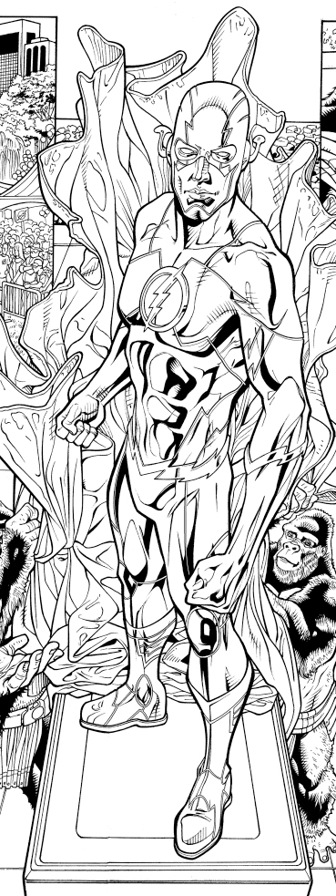 After modification.  Pencils: Chris Batista Inks: Tom Nguyen