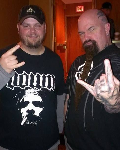 My friend Jeff and Kerry King.