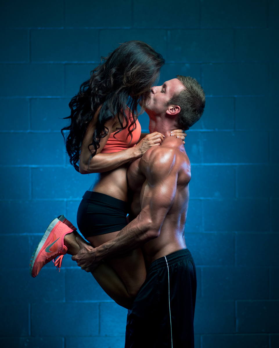 This photo of our couple has gone incredibly viral in the internet fitness circles. Hooray for more exposure (::drum roll::)!