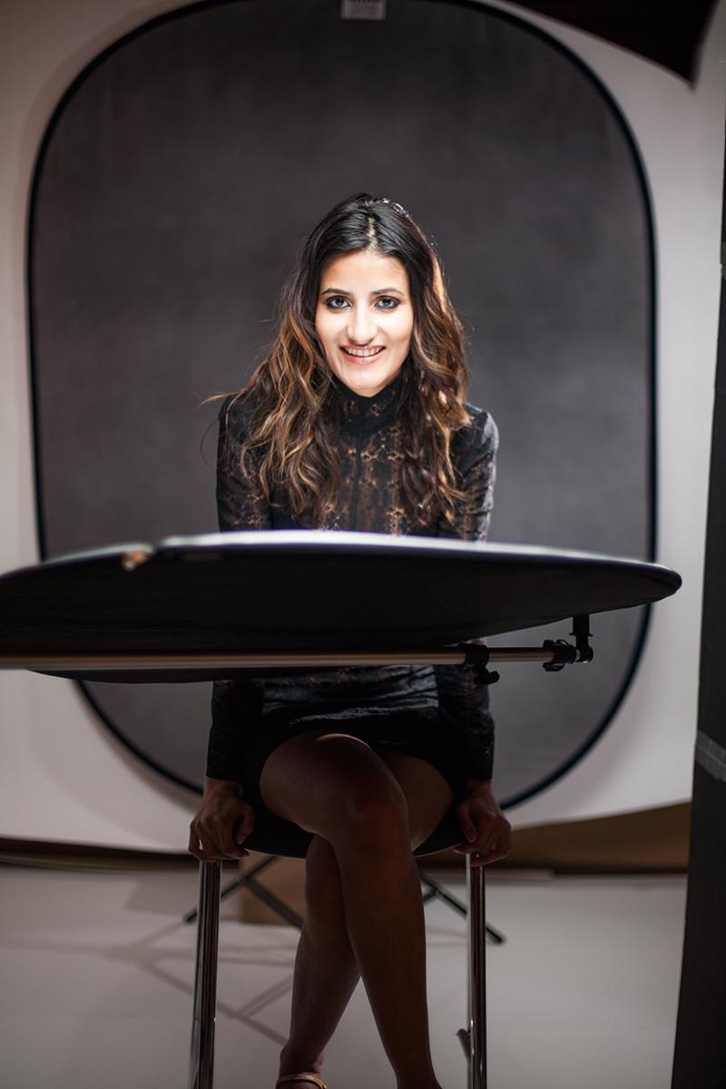 Model:  Hina Khan