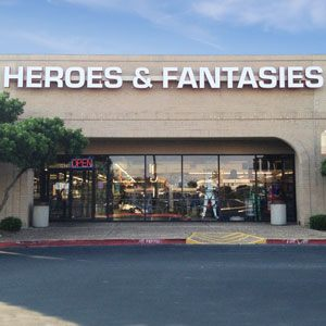 Heroes and Fantasies  4823 NW Loop 410 San Antonio, TX 78229 (210) 340-0074