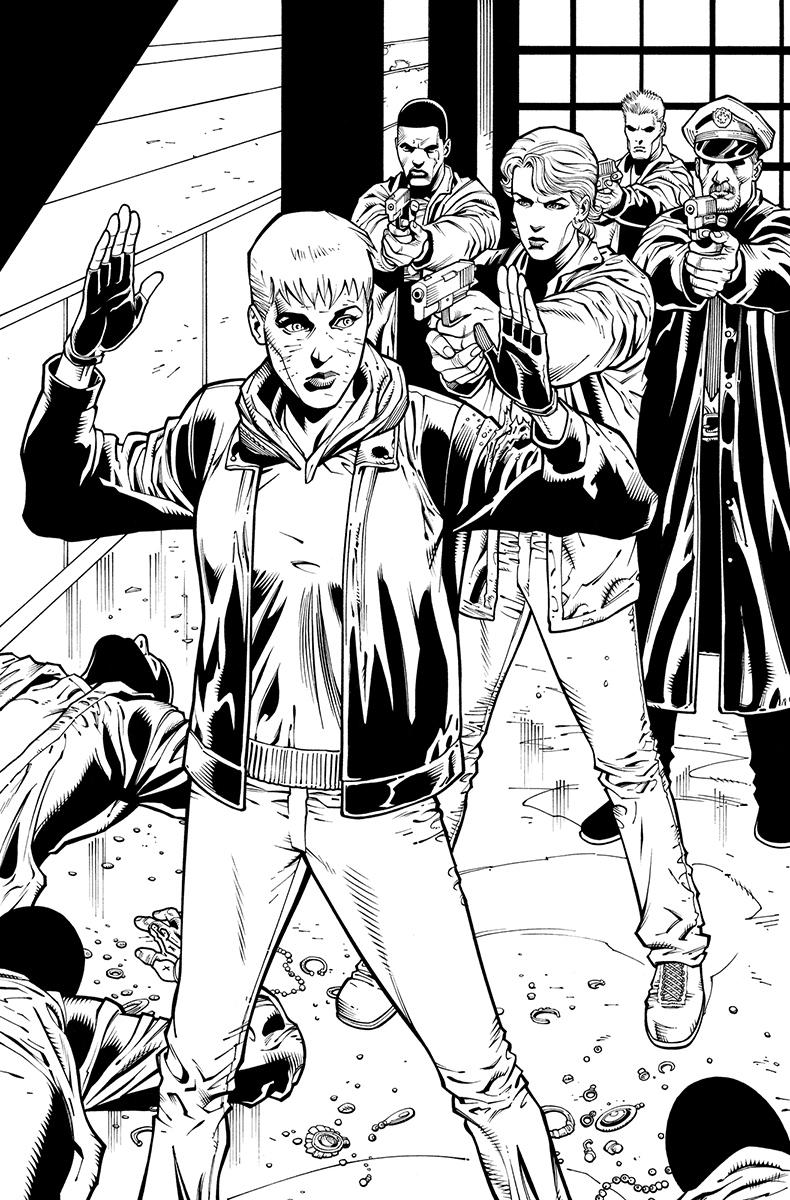 Batwoman #25, page 25 Pencils: Patrick Olliffe nks: Tom Nguyen