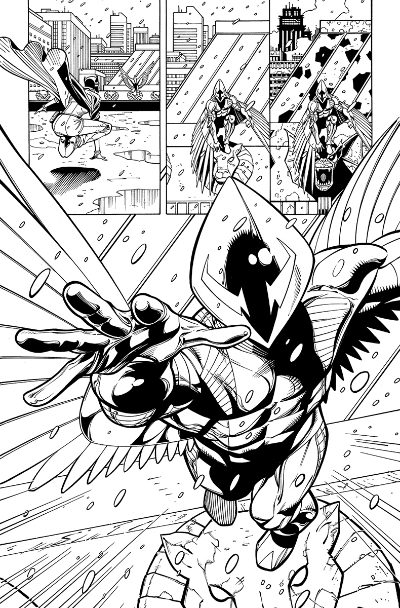 Catwoman #27, page 16 Pencils: Patrick Olliffe nks: Tom Nguyen