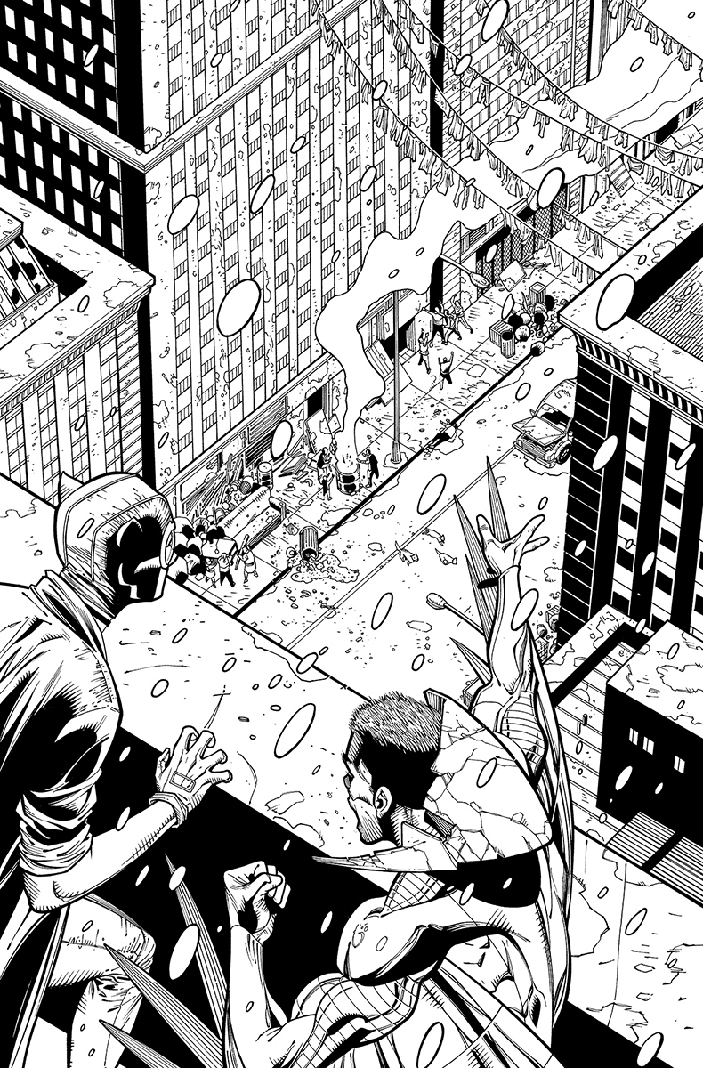 Catwoman #27, page 20 Pencils: Patrick Olliffe nks: Tom Nguyen