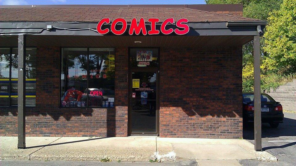 Captain Jack's Comics 8730 Lyndale Ave. South Bloomington, MN 55420 (952) 583-8538