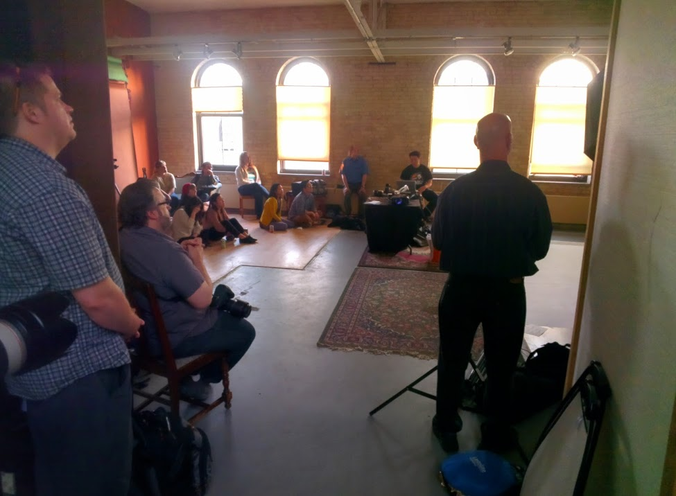 Photo from my free presentation last year (June 2014) in Minneapolis.