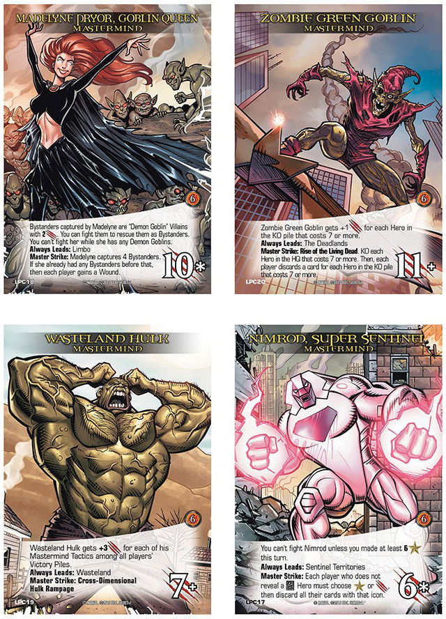 If you order the box set from the   Upper Deck site  , then you'll get these extra 4 special cards that I illustrated.