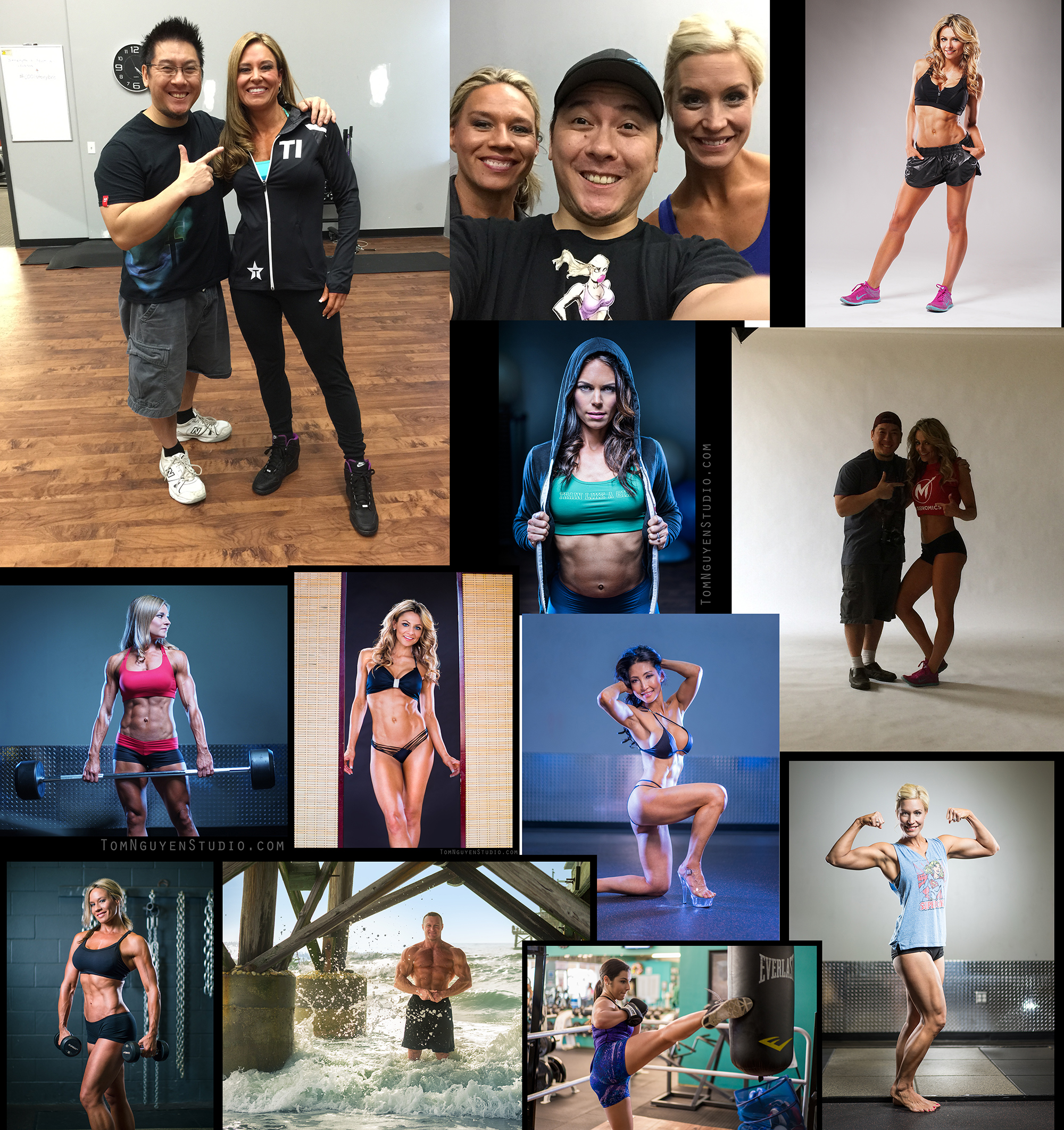 It was another fruitful year for fitness photography as I worked with another batch of wonderful, easy-to-work-with, and understanding/patient clients.  I gained a few new tearsheets as a result.